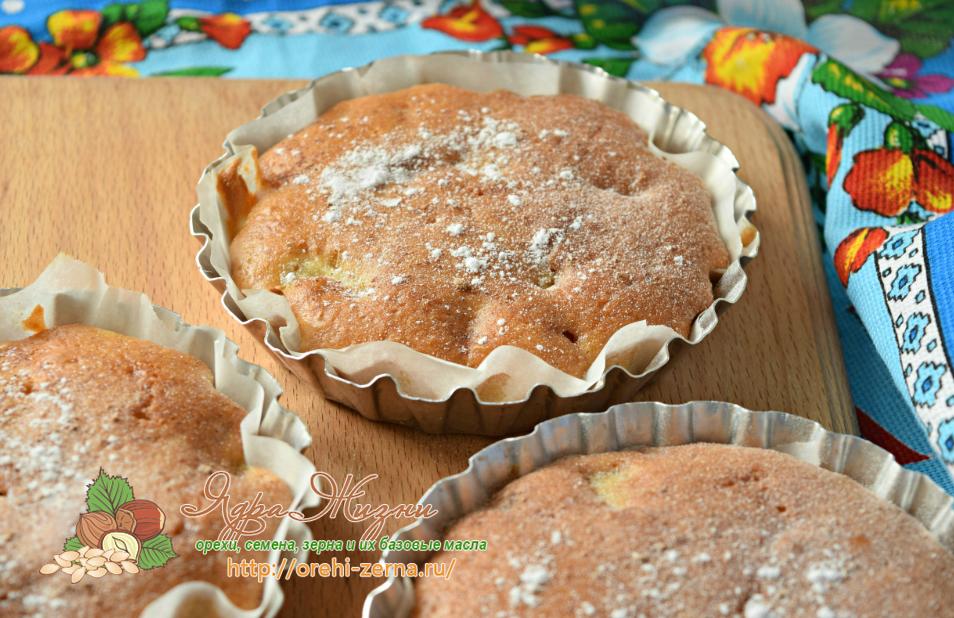 мини пироги с ревенем рецепт