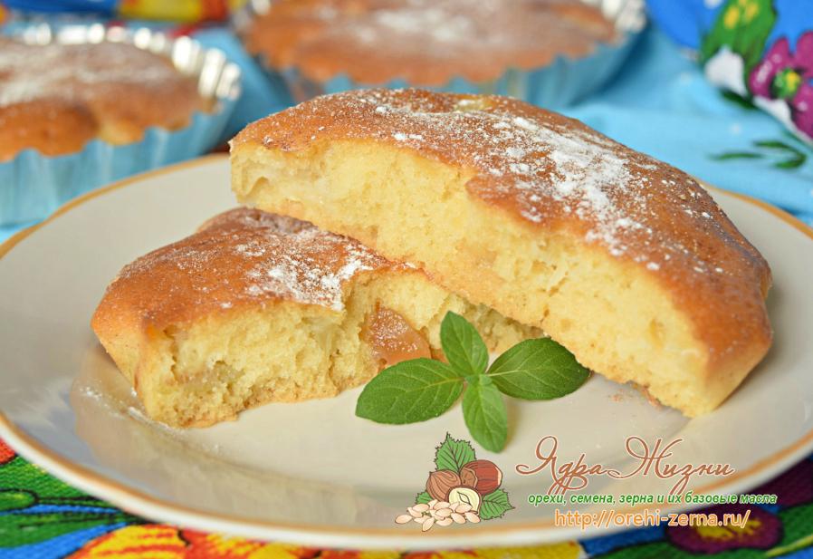 мини пироги с ревенем