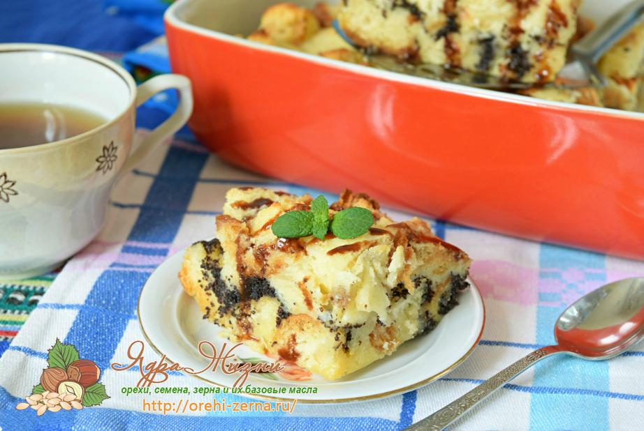 пирог с маком рецепт