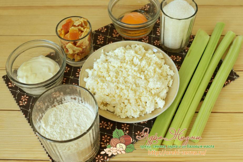 Рогалики с ревенем: домашний рецепт