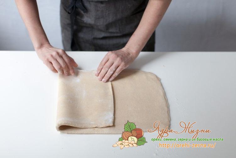 как приготовить слоеное тесто