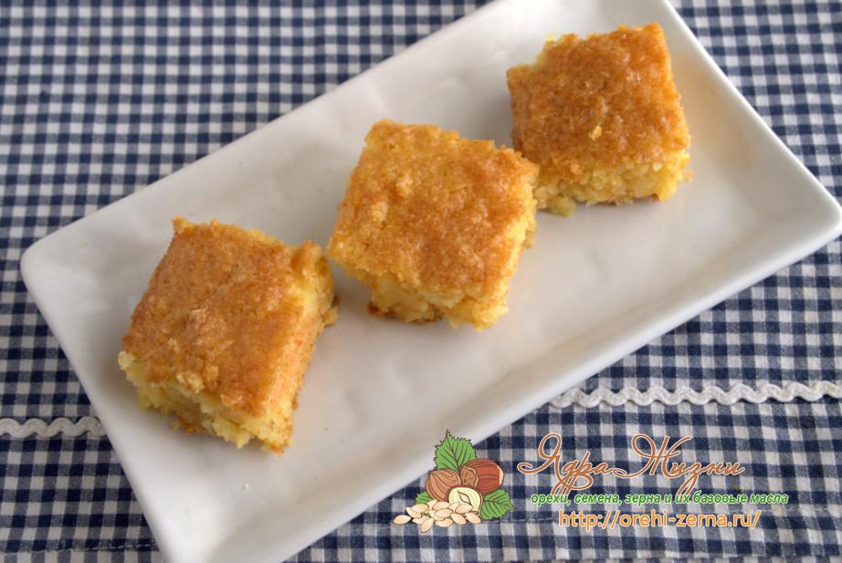 пирог из кукурузной муки рецепт