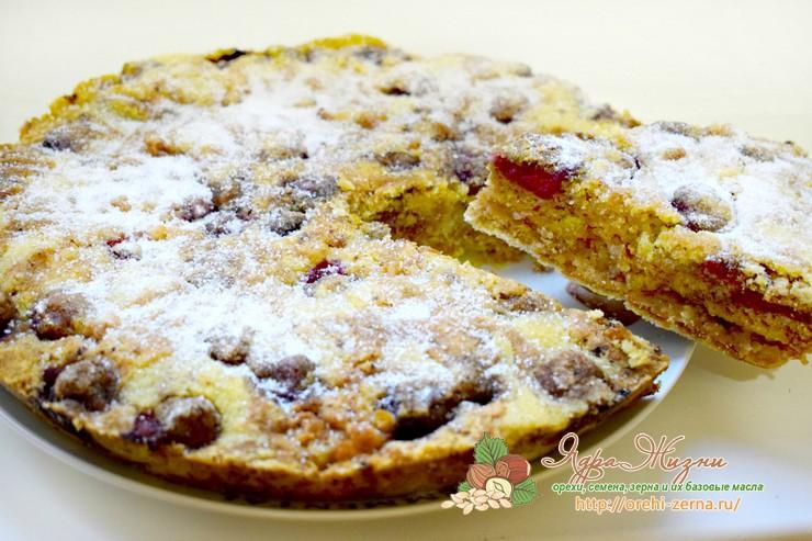 фруктовый пирог без теста