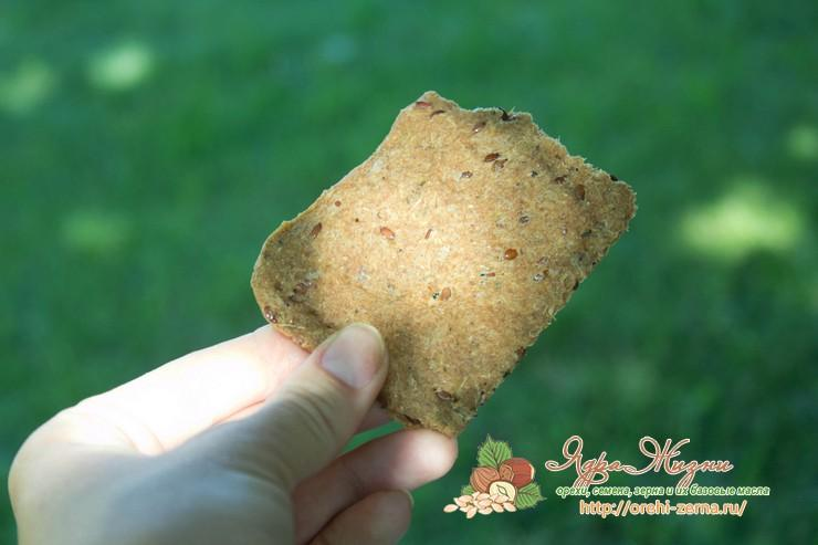 хрустящие хлебцы с семенами льна рецепт в домашних условиях