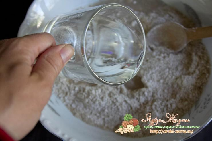 хрустящие хлебцы с семенами льна рецепт