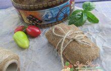 хлебцы с семенами льна и ламинарией