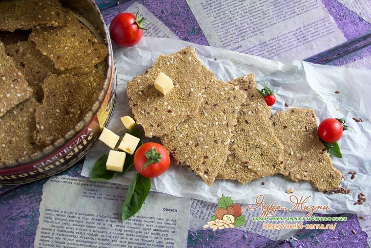 хрустящие хлебцы на пиве рецепт