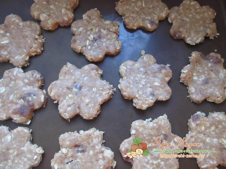 печенье из овсяных хлопьев с повидлом рецепт с фото