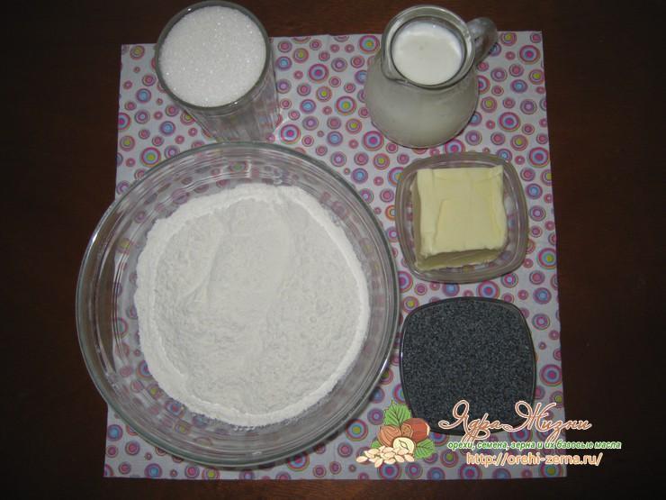 Печенье с маком - рецепт приготовления с фото