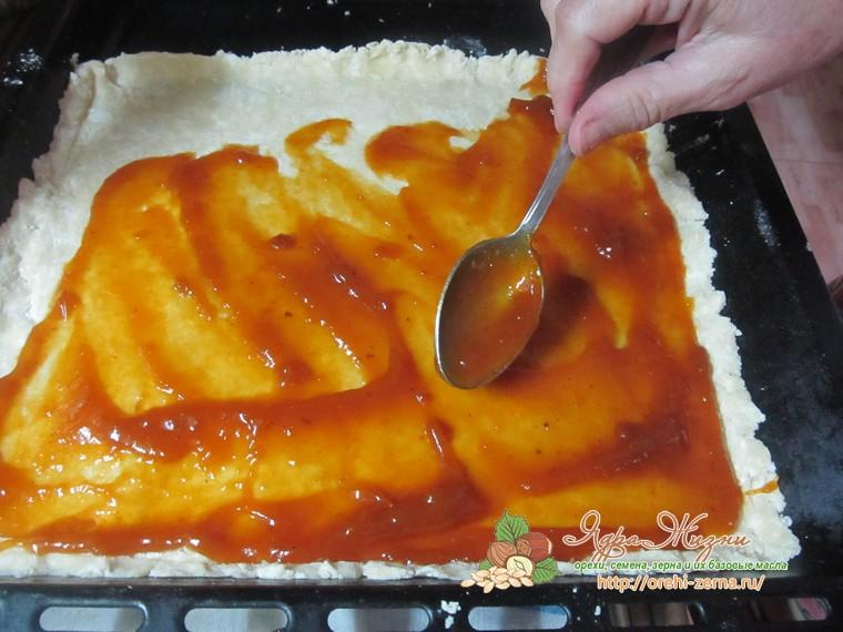 тертый пирог с повидлом домашний рецепт