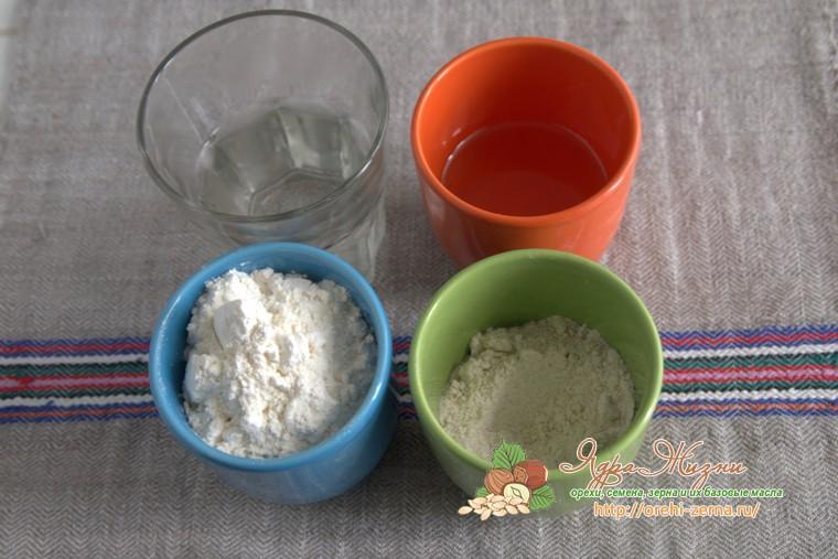Заварное тесто для пирогов: продукты для приготовления
