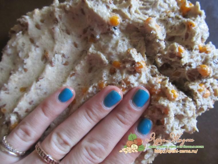 хрустящие хлебцы со льном домашний рецепт