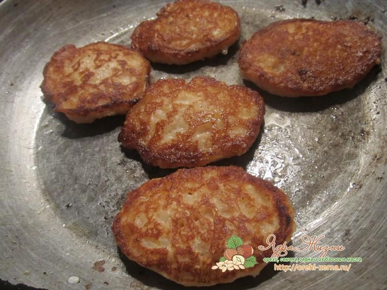 оладьи из рисовой каши