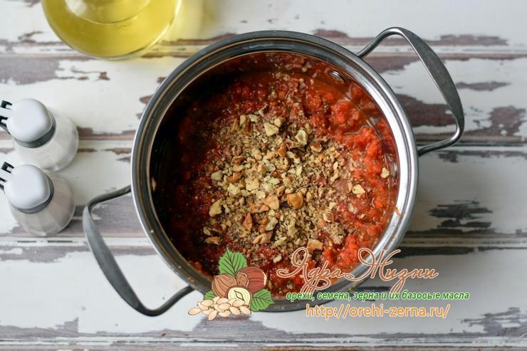 баклажаны с грецкими орехами по-грузински рецепт с фото