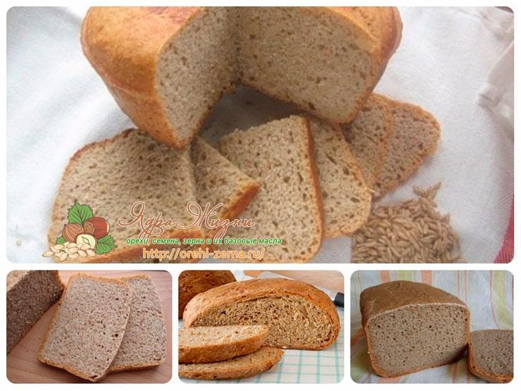 Хлеб из просяной муки