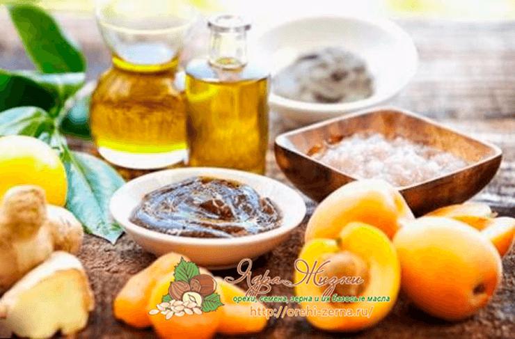 Фото: масло абрикосовых косточек