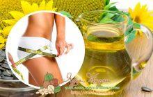 Подсолнечное масло для похудения