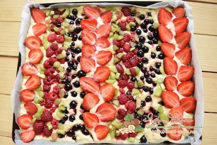 ягодный пирог Дорожки
