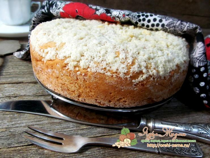 Постный пирог со смородиной пошаговый домашний рецепт