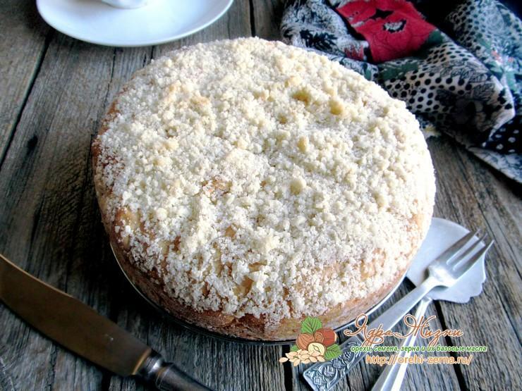 Постный пирог со смородиной пошаговый рецепт