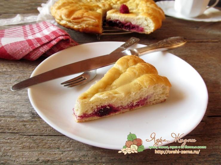 постный ягодный пирог пошаговый рецепт с фото дома