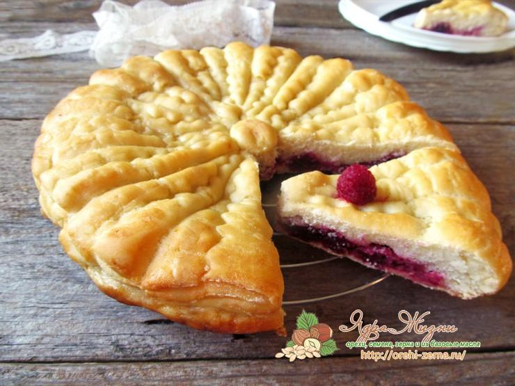 Постный ягодный пирог: рецепт в домашних условиях