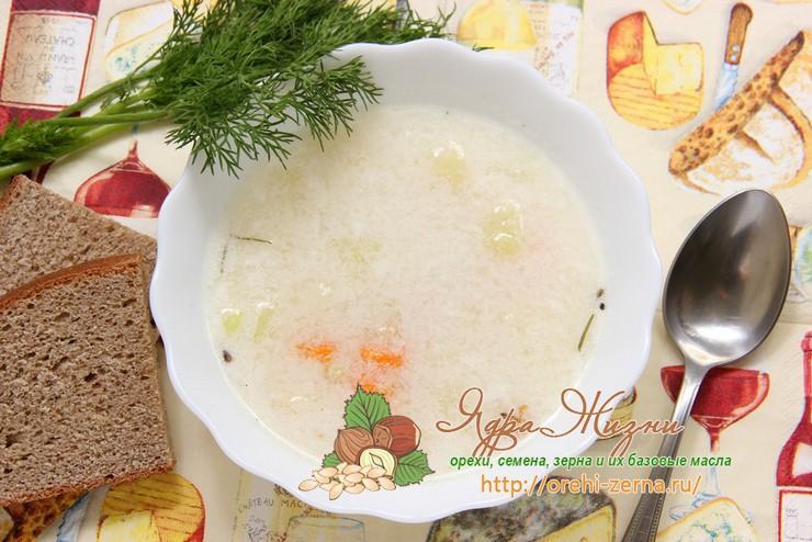 Сырный суп с рисом и сельдереем: рецепт в домашних условиях