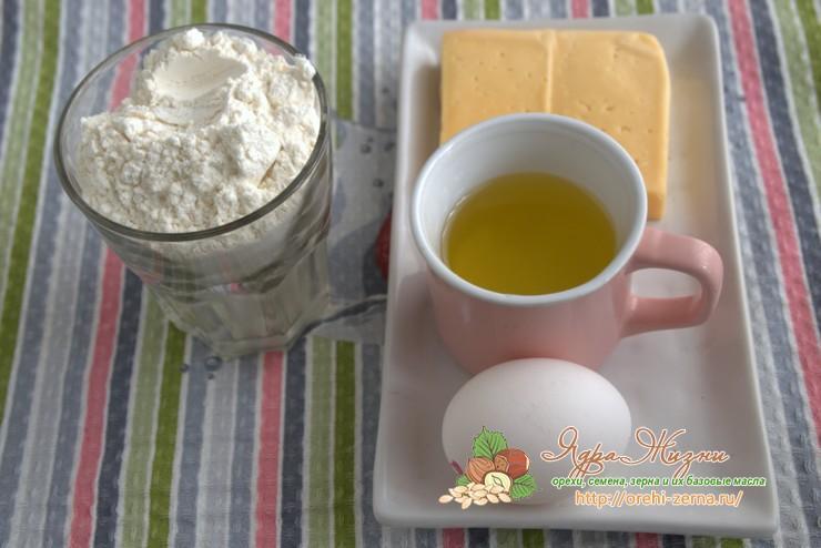 песочное тесто на растительном масле: продукты