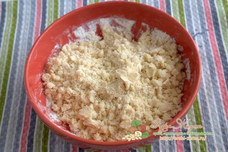 песочное тесто на растительном масле рецепт с фото