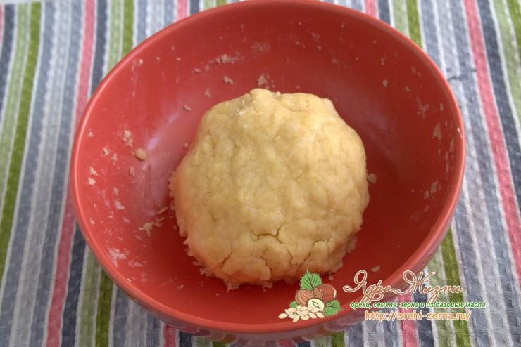 как приготовить песочное тесто на растительном масле рецепт