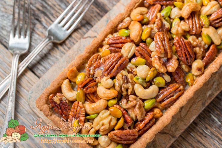 Рецепты с орехами и зернами