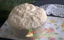 дрожжевое тесто на кипятке рецепт в домашних условиях