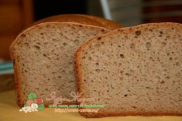 Ржаной хлеб бездрожжевой