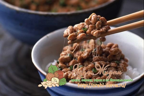 японское блюдо натто