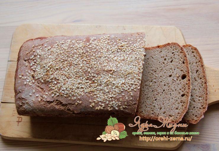 Хлеб из обдирной муки