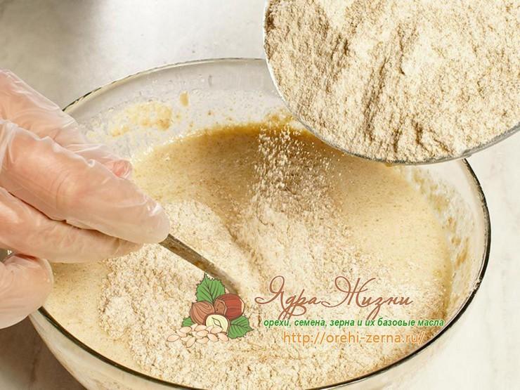 Рецепт блинов из муки из полбы