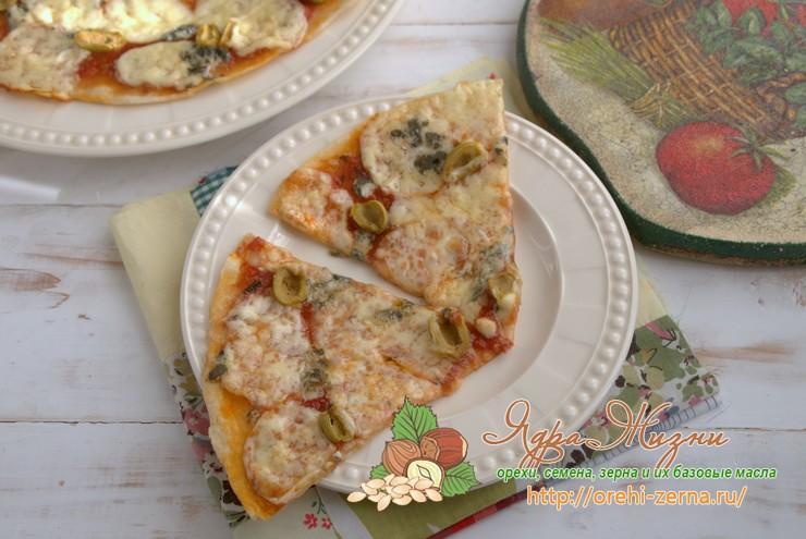 тонкое тесто для пиццы рецепт в домашних условиях