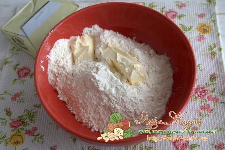 итальянское песочное тесто