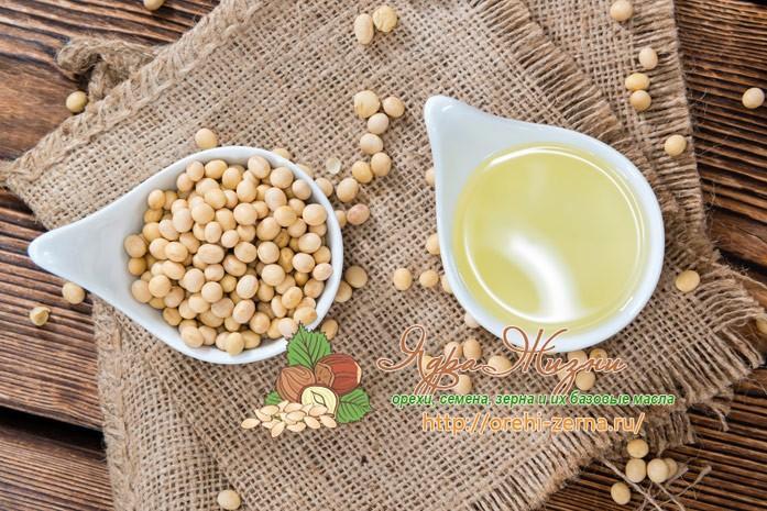 Соевое масло: полезные свойства