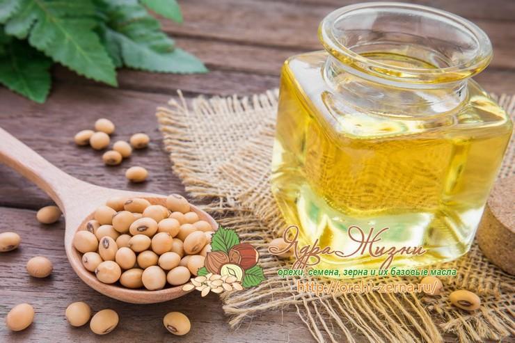 Соевое масло польза и вред для организма