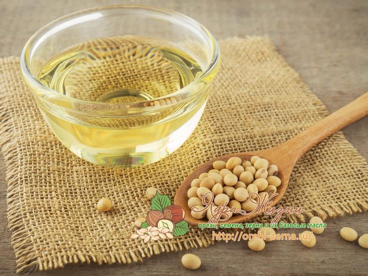 Полезные свойства масла из сои