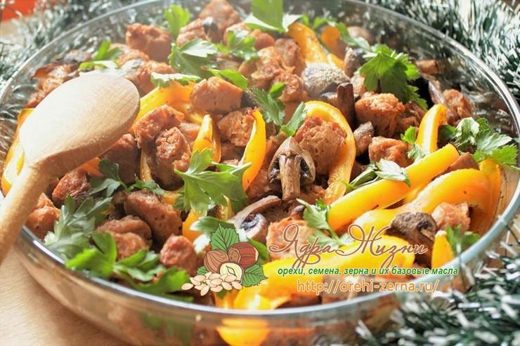 Рецепты приготовления соевого мяса
