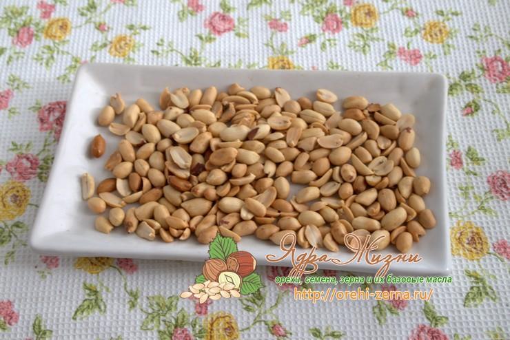 как сделать арахисовую пасту рецепт