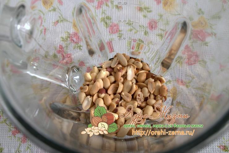 как сделать арахисовую пасту рецепт с фото