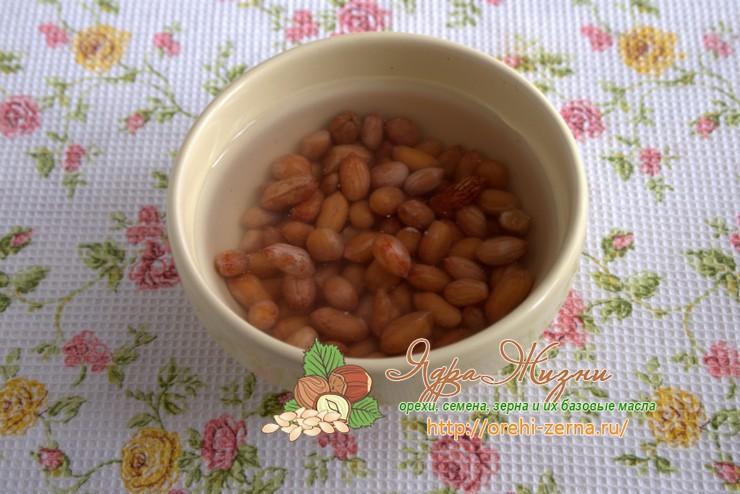 арахисовое молоко рецепт