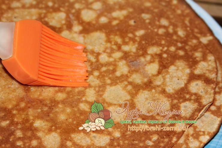 блины и цельнозерновой муки и гречневой каши рецепт в домашних условиях