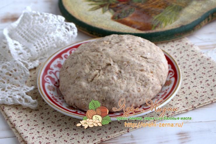 льняное тесто рецепт в домашних условиях