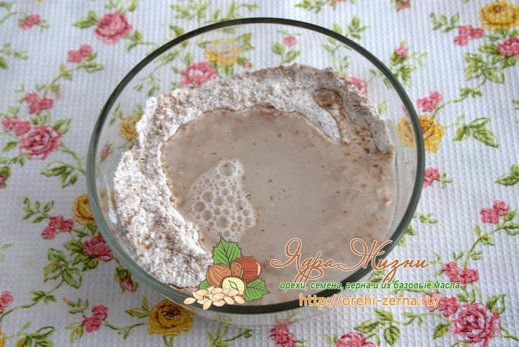 льняное тесто рецепт с фото