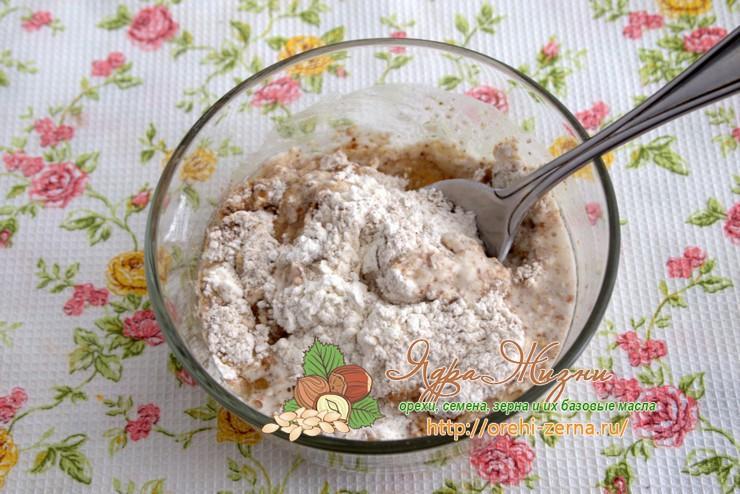 тесто из льняной муки рецепт в домашних условиях