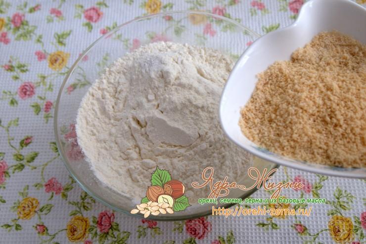 кекс из миндальной муки рецепт в домашних условиях